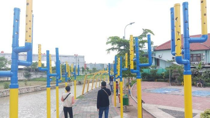 Taman Suplesi Kalimalang Tempat Nongkrong Kekinian Kota Bekasi Warta Kota