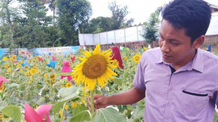 Tempat Pembuangan Sampah Liar Di Bekasi Disulap Jadi Taman Bunga Matahari Halaman All Warta Kota
