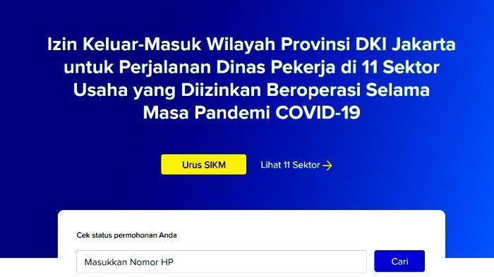 Kini Urus SIKM Lebih Cepat, Berikut Tata Cara, Syarat dan Ketentuan Pengurusan SIKM DKI Jakarta