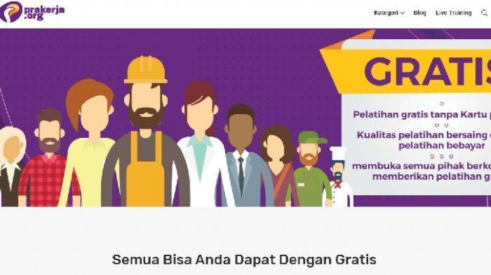 Muncul Situs Prakerja.org Berikan Pelatihan Kerja Gratis, Sindiran Menohok Program Prakerja Jokowi