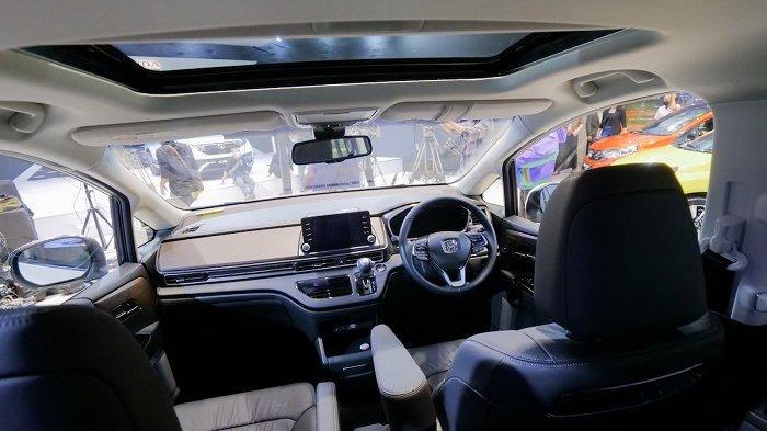 Tampilan interior Honda Odyssey facelift terbaru