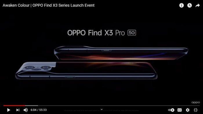 OPPO Find X3 Pro Resmi Meluncur, Punya Prosesor Sn