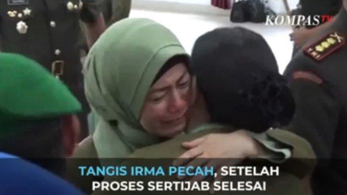 Foto-foto Tangisan Penyesalan Istri Kolonel Kav Hendi Suhendi, Ambil Himah untuk Kita Semua