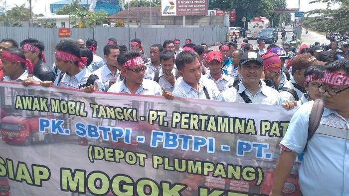 Aksi Mogok Kerja Sopir Tangki, Pertamina Siapkan Satgas BBM