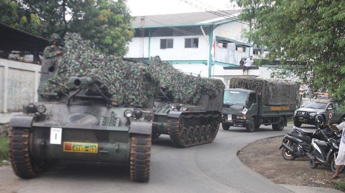 Dituding Netizen Sekat Pemudik Pakai Tank, Kodam Jaya: Itu Sedang Latihan Taktis