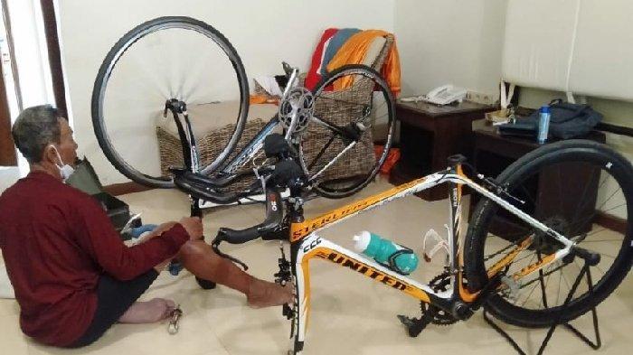 Tarwi Peraih Medali Emas GANEFO 1966 Kehilangan Sepeda Yang Pernah Digowes Dari Surabaya Ke Jakarta