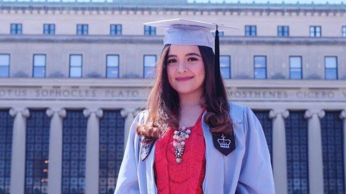 Tasya Kamila Selesaikan Kuliah S2 di New York, Para Artis Ternama Ini Memberi Inspirasi, Siapa Saja?