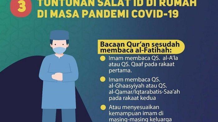 Tata cara Salat Idul Adha 1442 H dan khutbah singkat versi Muhammadiyah, sangat simple dan mudah dilaksanakan.