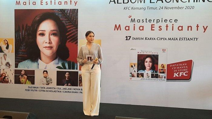 Alasan Tata Janeeta Pilih 'Salahkah Aku Terlalu Mencintaimu' dalam Album Kompilasi Maia Estianty