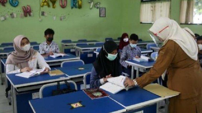 Pemprov DKI Klaim Pelaksanaan PTM di 85 Sekolah Berjalan Lancar, Tak Ditemukan Pelanggaran Prokes