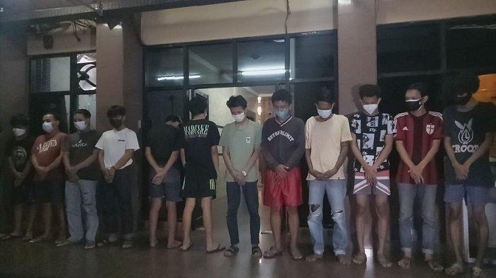Polisi Tetapkan 13 Tersangka Tawuran di Pasarmanggis, 3 Orang Masih di Bawah Umur