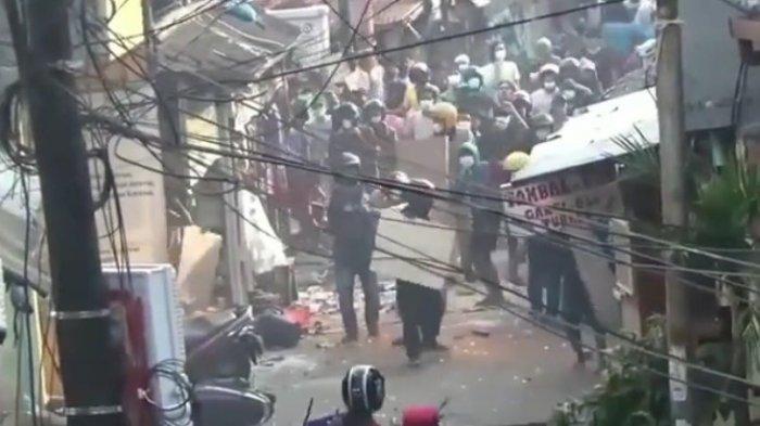 Tawuran Antar Pemuda Pecah di Pasar Manggis, Polisi Amankan Dua Terduga Pelaku