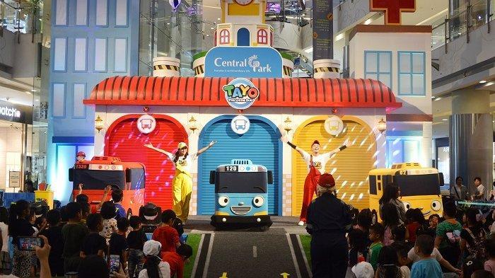 Jangan Lewatkan  Hiburan dari Tayo the Little Bus  di Central Park Saat Liburan Sekolah