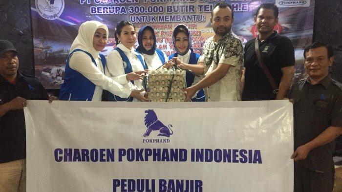 Program CSR PT. Charoen Pokphand & DPP IWAPI Distribusikan Bantuan 300 Ribu Butir Telur