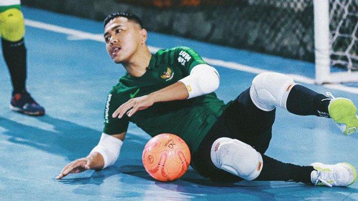 Demi Futsal Mantan Kiper Futsal Indonesia Tely Sarendra Rela Bayar Uang Kuliah Sendiri Warta Kota