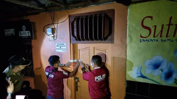 Operasi PPKM Jelang Puasa Ramadan, Tempat Hiburan Malam di  Kawasan Tenda Biru Bekasi Ditutup