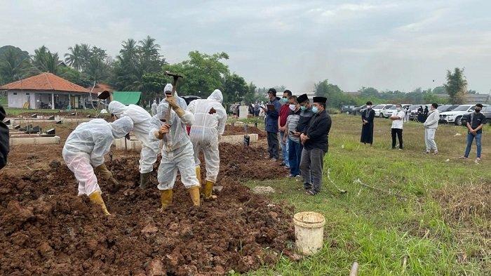 Kasus Covid-19 di Kabupaten Tangerang Mengganas, Per Hari Ada 9 Jenazah Pasien Covid-19 Dimakamkan
