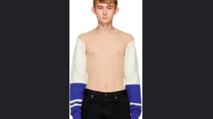 Ada-ada Saja, Perancang Top ini Jual Sweater Tembus Pandang, Laris Manis