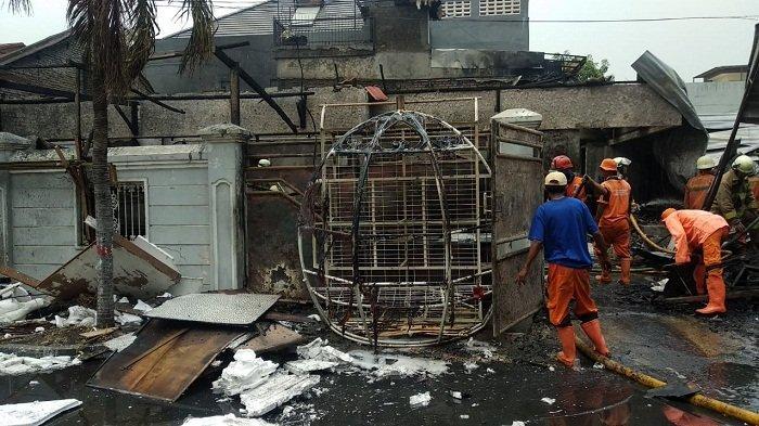 Seno Ditemukan Tewas Terjebak di Kamarnya Saat Tempat Usaha Penyelenggara Pernikahan Terbakar