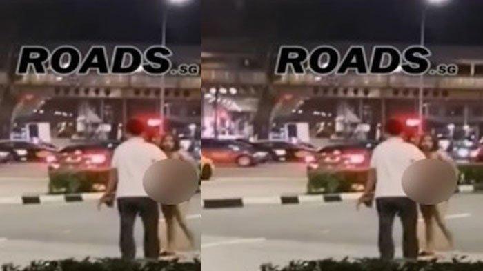 TEREKAM Kamera Gadis Ini Nekat Buka Baju di Jalanan Sambil Teriak Bikin Viral di Facebook