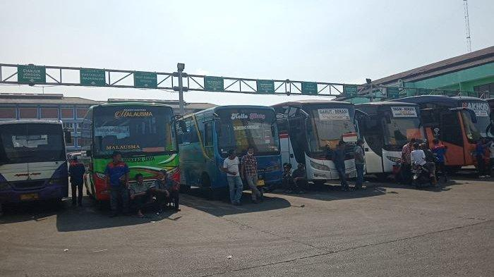 Jelang Idul Adha, Bus AKAP di Terminal Kota Bekasi Sepi Penumpang, Omzet Turun Dampak PPKM Darurat
