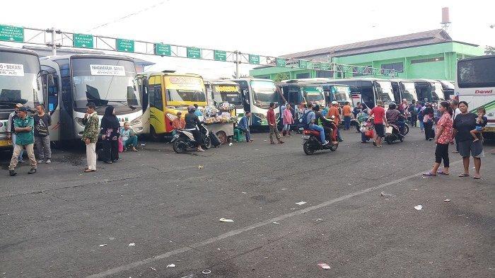 Terungkap, Jumlah Pemudik Gunakan Bus di Terminal Bekasi Turun 9 Persen