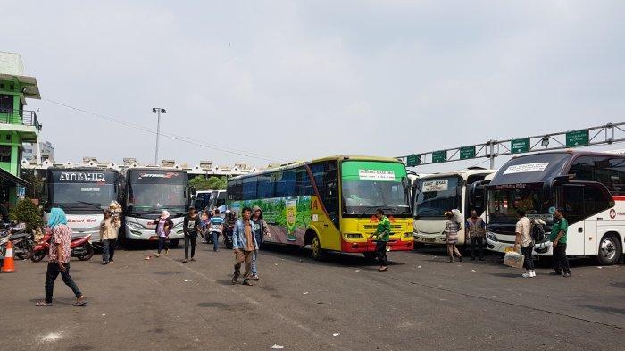 26 Ribu Lebih Pemudik Moda Bus Berangkat dari Terminal Induk Bekasi