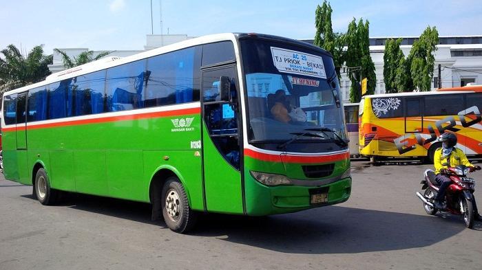 Kepala Terminal Bus Tanjung Priok Intensifkan Ramp Check