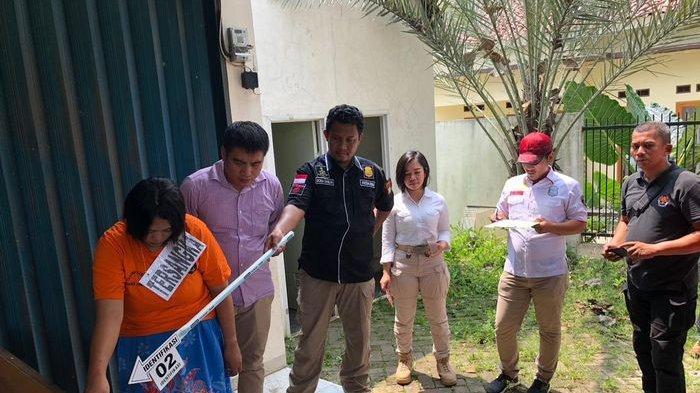 Rekonstruksi Pembunuhan Bayi oleh Ibu Kandung Peragakan 20 Adegan di Serpong Tangerang Selatan
