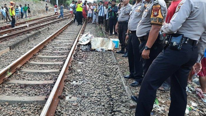 Tragedi Saat Warga Bojong Gede Tewas Seketika Akibat Tertabrak Kereta KRL Saat Jalan di Perlintasan