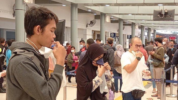 Tes GeNose C19 di Terminal Terpadu Pulo Gebang Gratis, Bernard Pasaribu: Gak Tahu Sampai Berapa Lama