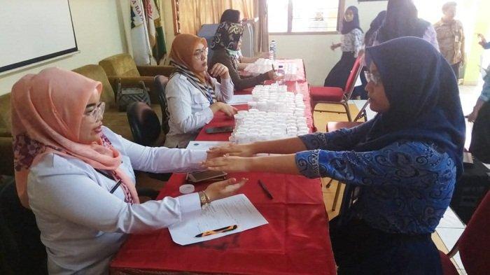 Cegah Penggunaan Narkotika Kalangan Pelajar, Ratusan Murid SMP 127 Jakarta Jalani Tes Urine