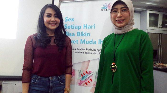 Miss V Keluar Cairan Saat Tertawa, Tessa Kaunang Lakukan Peremajaan Pakai Laser