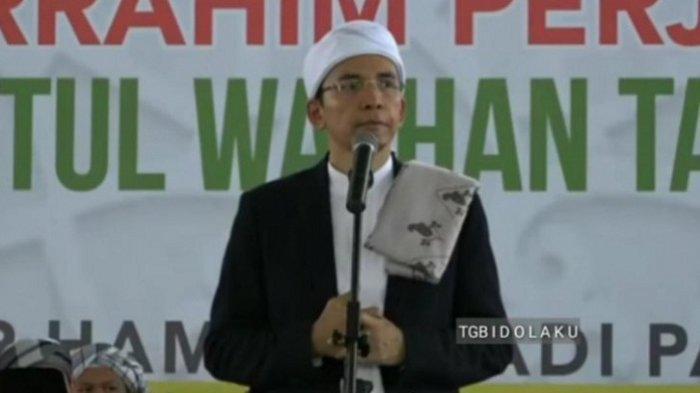 Tuan Guru Bajang Minta Sudahi Fitnah Terhadap Jokowi pada Pilpres 2019