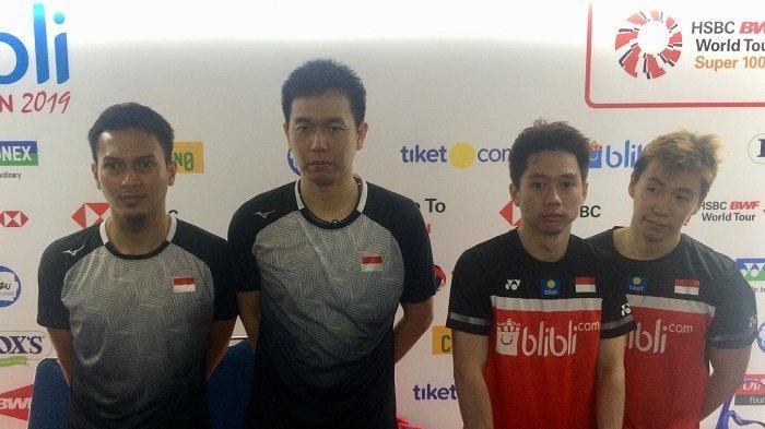 Pertahankan Gelar Juara Indonesia Open, The Minions Mengaku Masih Banyak Kekurangan