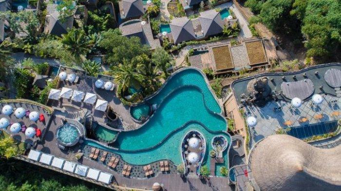 The Kayon Jungle Resort yang berada di kawasan Ubud, Bali, memperoleh penghargaan World Luxury Hotel Award 2020.
