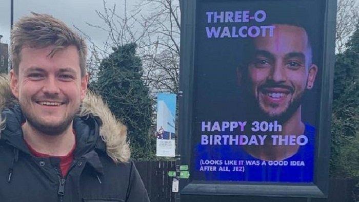 Publik Menanti Ulang Tahun Theo Walcott ke-30