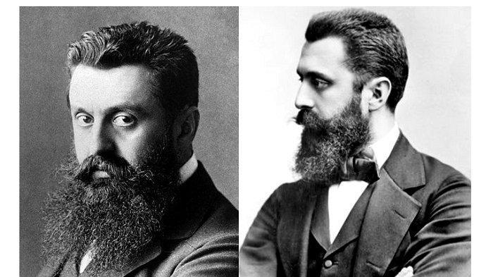 Profil Theodor Herzl, Jurnalis dan Tokoh Gerakan Utama Zionisme Dijuluki Bapa Rohani Negara Yahudi