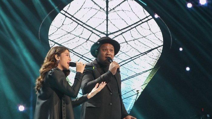 Duet Bersama Virgoun, Tiara Tunjukan Dirinya Layak di Babak Empat Besar Indonesia Idol Seasion X