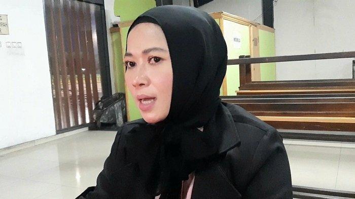 Pedangdut Tiara Marleen saat ditemui di TransTV, Mampang Prapatan, Jakarta Selatan, Senin (12/10/2020).