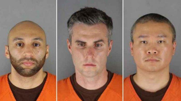 Ini Dakwaan Terhadap 3 Polisi Terlibat Kasus Pembunuhan Goerge Floyd, Selain Terdakwa Derek Chauvin
