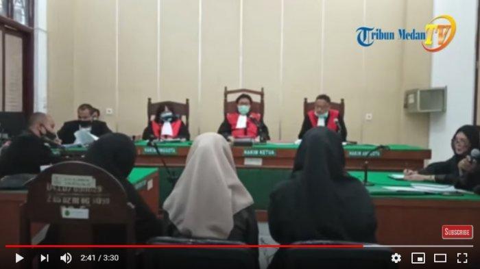 Adegan Mesum Zuraida Hanum dan Jefri Ternyata Ada Fotonya, Terungkap Dipersidangan, Ibu Zuraida Diam
