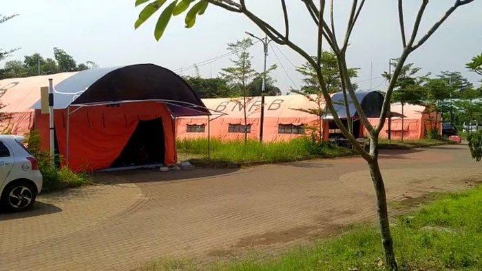 RLC Kota Tangsel Tambah Sejumlah Tenda Darurat Pasien Covid-19, Kendalanya Tenaga Kesehatan Kurang