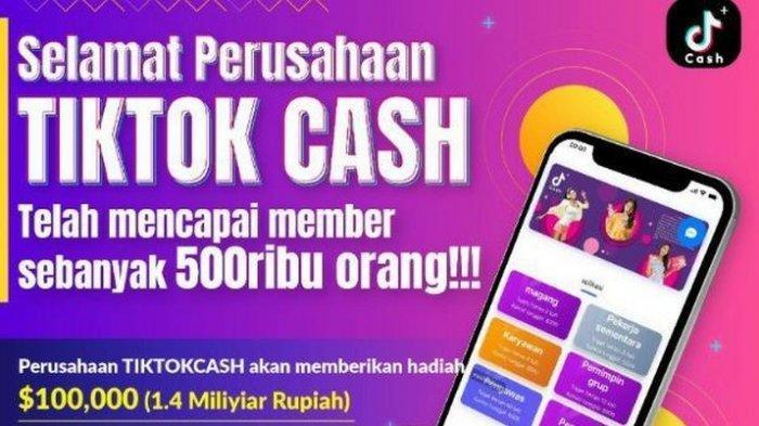 TikTok Cash Dianggap Tawarkan Investasi Bodong, Begini Tanggapan TikTok Indonesia