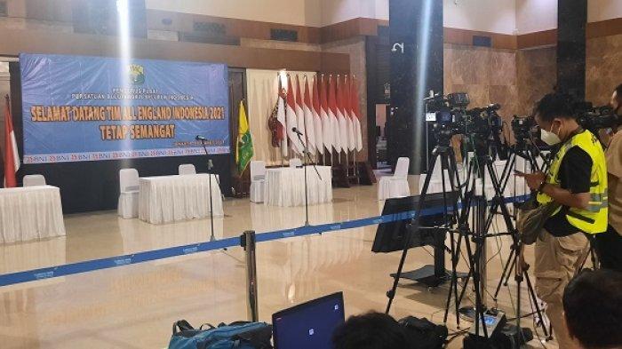 Kembali ke Tanah Air, Tim Badminton Indonesia Disambut di Gedung VVIP Terminal Tiga Soekarno Hatta