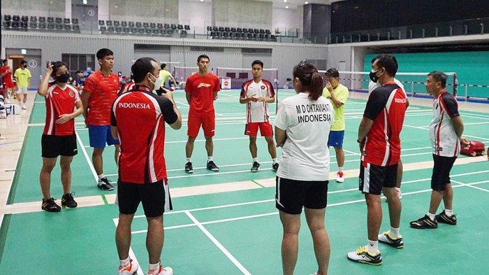 Berangkat ke Olimpiade Tokyo, Kontingen Bulutangkis Indonesia Dapat Perlindungan Asuransi