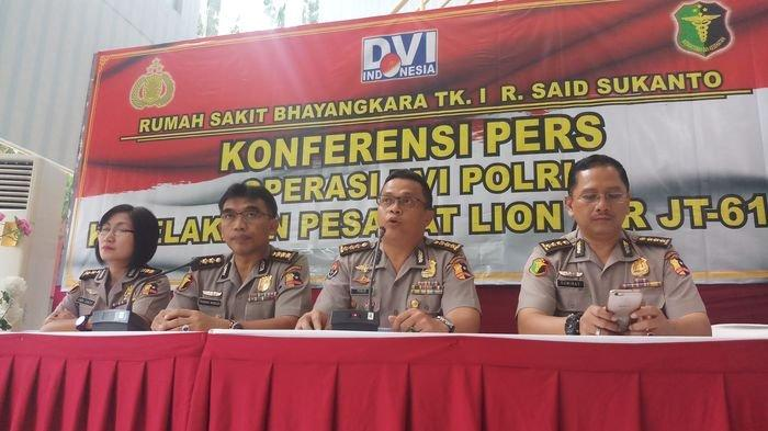 Identifikasi Resmi Ditutup, RS Polri Kramatjati Tetap Akan Terima Jenazah Korban Lion Air JT 610