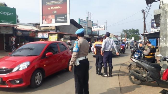 Gelar Operasi Yustisi di Ciseeng dan Cileungsi, Aparat Gabungan Jaring Puluhan Warga Tak Bermasker