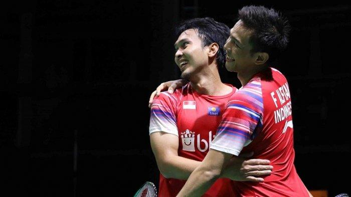 Tim Putra Indonesia Juara Badminton Asia Team Championships 2020, Hendra/Ahsan Jadi Penentu