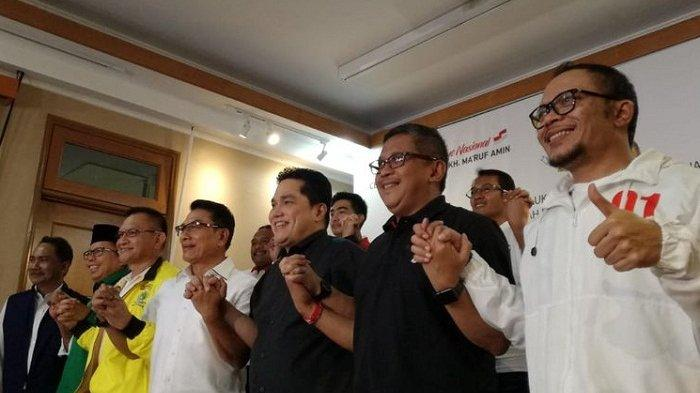 Hari Ini Jokowi Pimpin Pembubaran TKN Koalisi Indonesia Kerja, 10 Parpol akan Terus Kawal Pemerintah